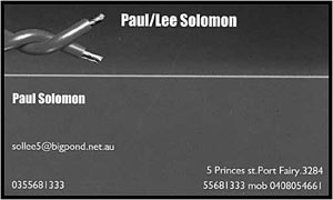 Paul / Lee Solomon