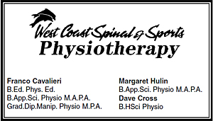 West Coast Spinal and Sports Physiotherapy